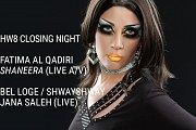 HW8 Closing Night | Shaneera (Live A/V), Fatima Al Qadiri at The Ballroom Blitz
