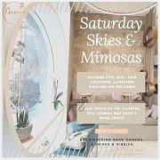 Saturday Skies & Mimosas
