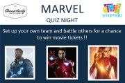 Marvel Quiz Night at Smartlab
