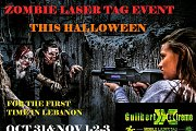 Halloween Zombies Laser Tag By Guilbert Extreme
