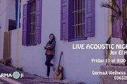 Live Acoustic Night with Joy El Hajj