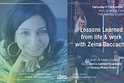 Lessons Learned from Life & Work with Zeina Daccache - Event by I Have Learned Academy