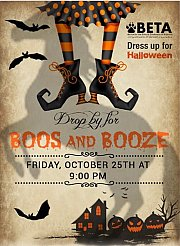 """BETA's Halloween """"Boos and Booze"""" Party to Support Animal Welfare in Lebanon"""
