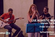 Live Acoustic Night with Vintage The Band