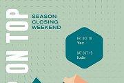 Season Closing Weekend at Frozen Cherry