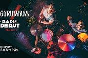 Gurumiran [Live] at Radio Beirut
