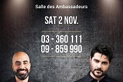 The Artist Nassif Zeytoun and Comedian Hicham Haddad Live at Casino du Liban