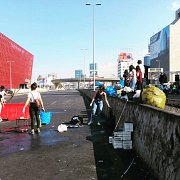 Clean up in Beirut Downtown, Jal El Dib & Tripoli  in protests days