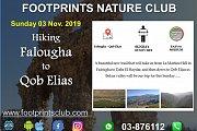 Footprints Hiking from Falougha to Qob Elias