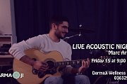 Live Acoustic Night with Marc Arida