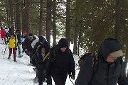 Snowshoeing Ehden Forest reserve with ProMax
