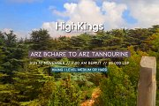 Arz Bchare to Arz Tannourine | HighKings