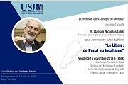 Rencontre Exceptionelle avec Nassim Nicholas Taleb a l'USJ