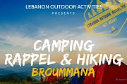Camping, Rappel & Hiking in Broummana with Lebanon Outdoor Activities