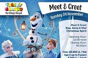 Meet Elsa Anna & Olaf