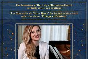 Classical Piano 'Inspired by Love' Part of Les Musicales de Notre Dame