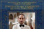 Opera Concert 'Pour un Baiser' Part of Les Musicales de Notre Dame