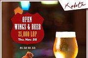 Open Wings & Beer at Kudeta