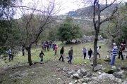Hiking in Mazraat El Tefeh with Baldati