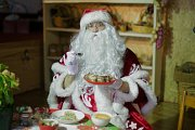Santa Claus on Christmas Eve with Fun Plus One