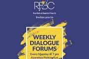 Dialogue Forums in Downtown Every Monday!