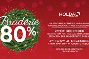 Braderie 80% at Holdal