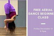 Free Aerial Dance Beginners Class!