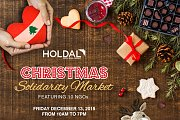Christmas Solidarity Market at Holdal
