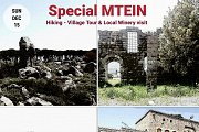 Special MTEIN: Hiking, Village Tour & Winery Visit with Green Steps