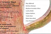 Ceramic Days at Ras Beirut Cultural Center