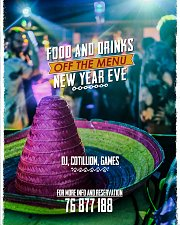 NYE 2020 at Maracas tequila bar