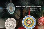 Christmas Ornaments Mandala Coloring at Diell' Coffee Shop