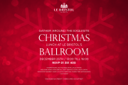 Christmas Lunch at Le Bristol's Ballroom