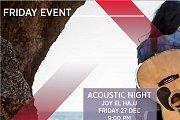 Acoustic Night with Joy El Hajj