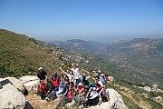 Footprints Hiking from Deir Qamar to Maaser Beit Eddine