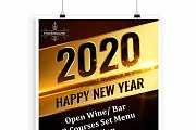 New Year Eve 2020 Party at French Brasserie