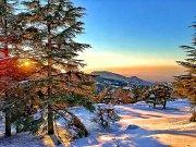 Snowshoeing Hadath el Jebbe with Lebanese Explorers