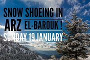 Snow Shoeing Arz El-Barouk with Wanderlust Lebanon