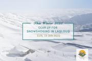 Laqlouq Snowshoeing Aventura!