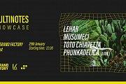 Multinotes Beirut: Lehar, Musumeci, Toto Chiavetta, Phunkadelica