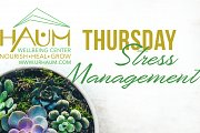 Manage Your Stress Workshops